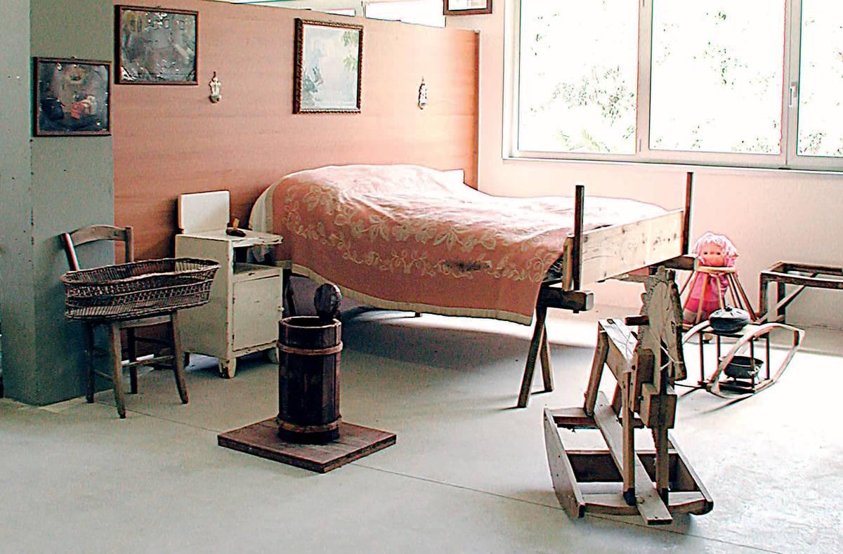 Museo della civilt contadina carlo etenli grancona la for Camera da letto sopra il garage