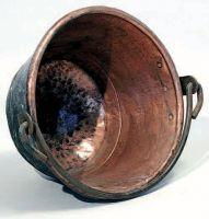 Caldièro (paiolo) della famiglia Etenli