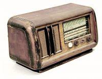 Radio a valvole.