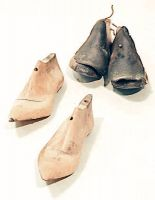 Forme per scarpe, di legno.