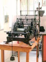 Macchina da orologio del 1908 del campanile di Villa del Ferro